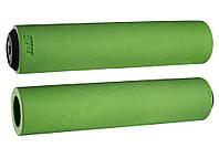 Грипсы ODI F-1 Float Grips, зеленые
