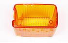 Скло повторювача поворотів DB 609-709 (жовтий) (8261) AUTOTECHTEILE, фото 2