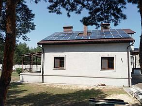 Один из вариантов размещения солнечных батарей вокруг дымоходной трубы.