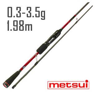 Спиннинг Metsui Specter Micro Jig 662XULS 1,98 m. 0,3-3,5g.