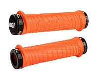 Грипсы ODI Troy Lee Designs Signature MTB Lock-On, оранжевые