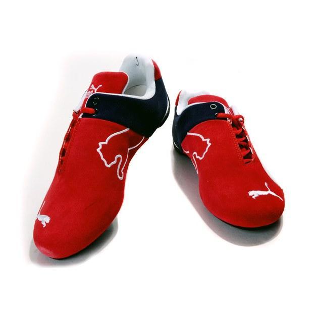 "Кроссовки Puma Ferrari ""Red/White/Black"" Арт. 3811"