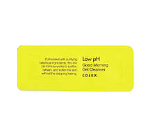 COSRX Low pH Good Morning Gel Cleanser Слабокислотный гель для очищения кожи