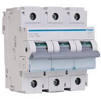 Автоматичний вимикач 3р, С,63 A, 6 кА,  Хагер