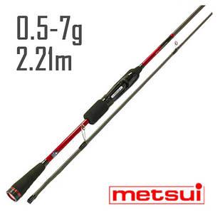 Спиннинг Metsui Specter Micro Jig 732ULS 2,21 m. 0,5-7g.