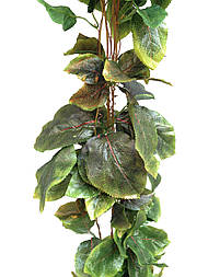 Лиана искусственная 14 метров суданская роза, зеленый