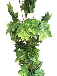 Лиана искусственная 14 метров клён, зеленый