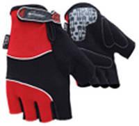 Перчатки без пальцев In Motion NC-1236-2010 красные XL