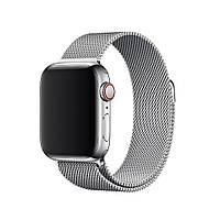 Ремешок Neo для Apple Watch Series 4 Milanese Loop 42 mm Silver (92726)