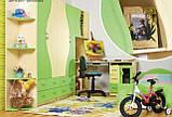 Набор мебели для детской Эколь с кроватью (БМФ) МДФ лак, фото 2