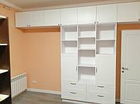 Шкаф стенка с крашеными фасадами  фурнитура блюм (blum), фото 1
