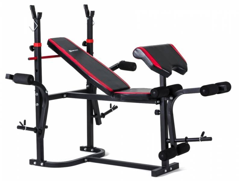 Набор Hop-Sport Strong 133 кг со скамьей HS-1020