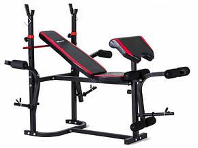 Набор Hop-Sport Strong 133 кг со скамьей HS-1020 , фото 2