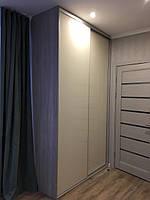 Шкаф купе полувстроенный Slim Starke V-02106