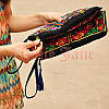 Женская сумка клатч с вышивкой, фото 3