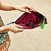 Женская сумка клатч с вышивкой, фото 4