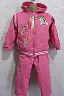 Практичный костюм для девочек в расцветках, фото 1