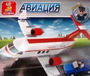 Конструктор SLUBAN Авиация, фото 2