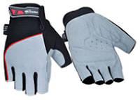 Перчатки без пальцев In Motion NC-1820-2012 черн-сер XL