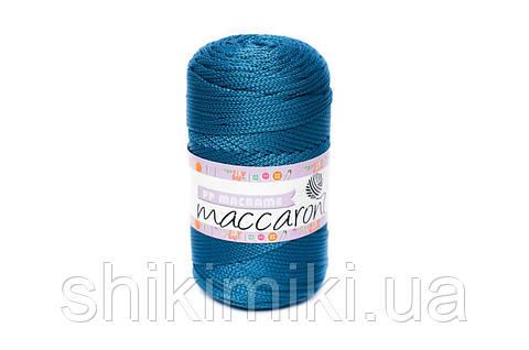 Трикотажный полиэфирный шнур PP Macrame,цвет морская волна