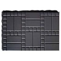 Форма стеклопластиковая для тротуарной плитки №2 (садовой плиты)
