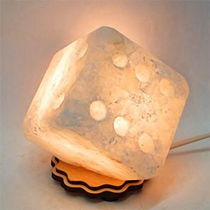 Соляной светильник Кубик - Зарик средний