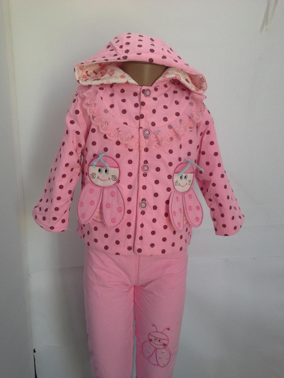 66077755c8f7 Утепленный костюм для девочек от 1 до 4 лет  продажа, цена в ...