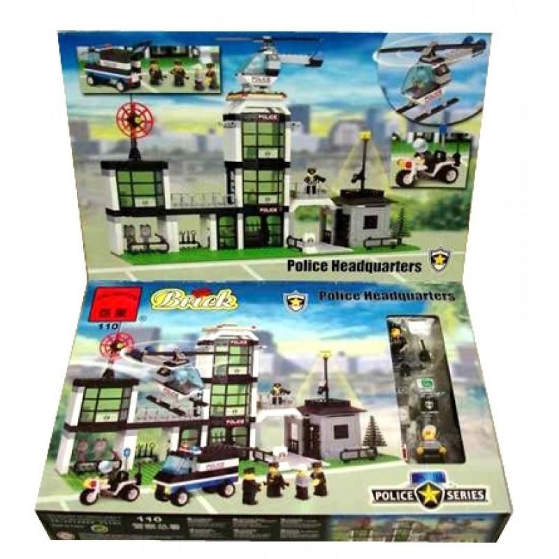 Конструктор Police 432 детали. Тематический игровой набор конструктор Lego (Лего).