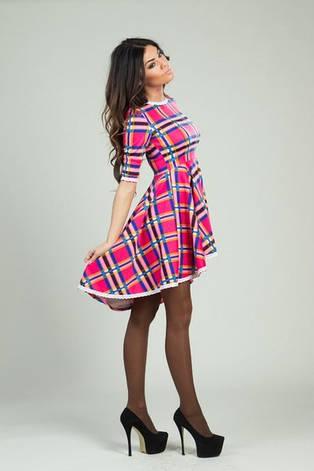 Платье цветная клетка, фото 2