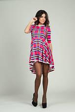 Платье цветная клетка, фото 3