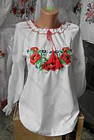 """Вышиванка  для  девочки """" Маки """" 0555 ( Г.А.Л.)"""