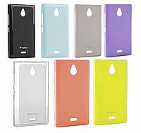 Чехол для Nokia X2 - Melkco Poly Jacket TPU
