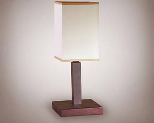 Настільна лампа дерев'яна 18000