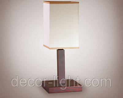 Настольная лампа деревянная  18000
