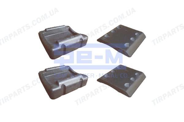 Комплект ремонтный пластин JOST SK1259, SK2105-25 только подушки!!!! (SK210525 | SEM8754)