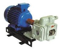 Насосный агрегат НМШ 2-40-1,6/16 с 1,5 кВт шестеренчатый для масла