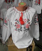 """Вышиванка  для  девочки  подростка """" Роза """" 0557  ( Г.А.Л.)"""