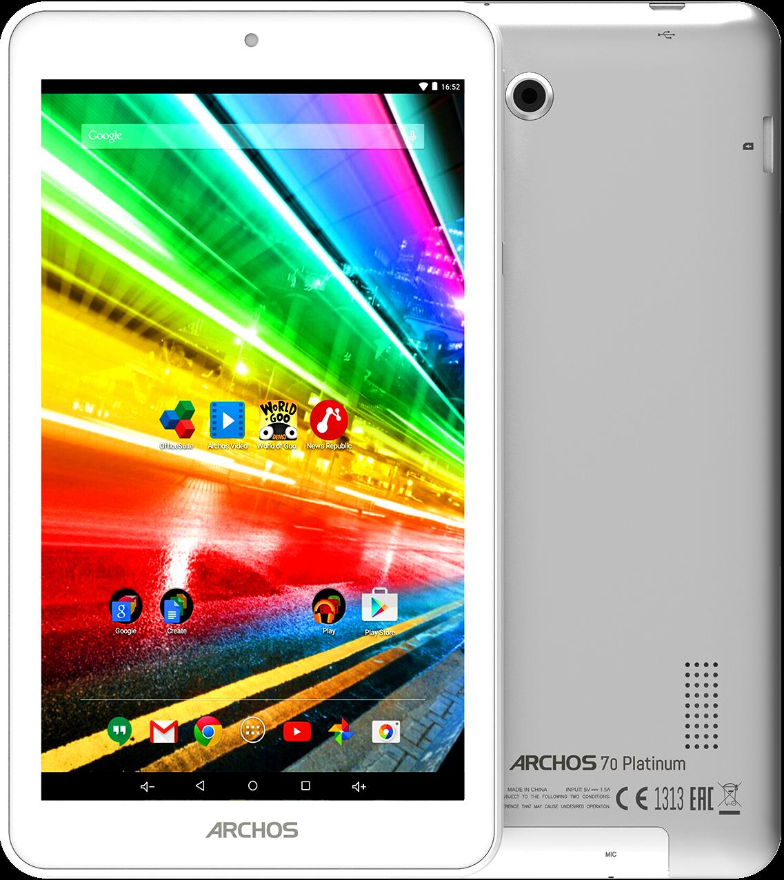 Планшет Archos 70 Platinum 1/16Gb Grey GPS