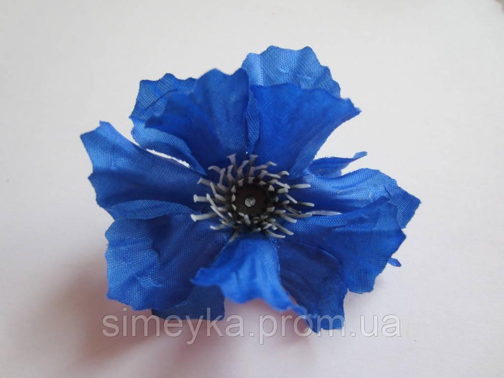 Василёк (волошка) для украинского венка (головка цветка), диаметр 6,5 см