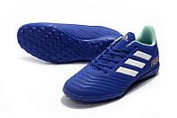 Футбольные сороконожки adidas Predator 18.4 TF Unity Ink/Aero Green/HiRes Green, фото 1