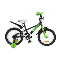 Детский велосипед Formula 16 JEEP 2018 14G рама-8,5 St черно-салатовый (OPS-FRK-16-054)