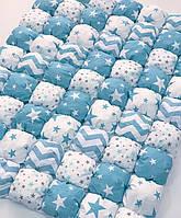 Бомбон покривало на дитяче ліжко 90х120. Одеяло бомбон для хлопчика. Покрывало на кровать. Одіяло. Ковдра