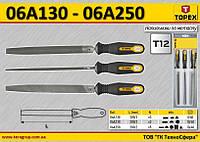 Набор напильников по металлу n-5шт,  TOPEX  06A250