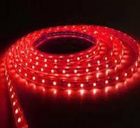 Светодиодная лента 12V smd2835 ІР20 красная 120led негерметичная