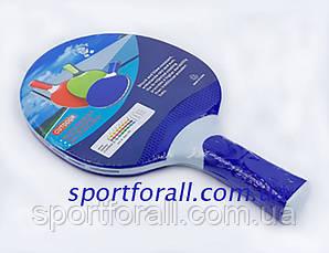 Ракетка для настільного тенісу 1 штука GIANT DRAGON OUTDOOR MT-5687 (термопластик) PR15103 Код MT-5687