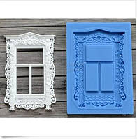 Молд силиконовый окно