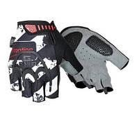 Перчатки без пальцев In Motion NC-2302-2014 черн- серый M