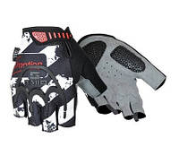 Перчатки без пальцев In Motion NC-2302-2014 черн- серый L