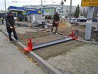 Правило Планировщик универсальный для профилирования  основания под укладку тротуарной плитки