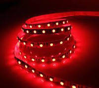 Светодиодная лента 12V smd5050 ІР20 красная 60led негерметичная